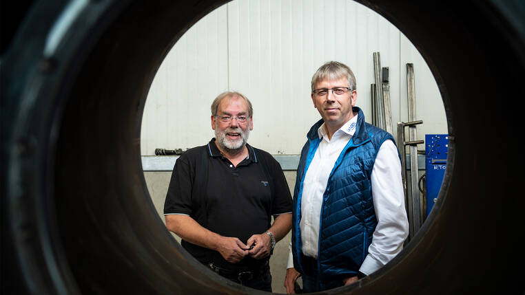 The Managing Directors Wilfried and Franz Langen have been relying on Bystronic cutting technology for 20 years.